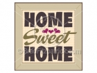 Home Sweet Home Clipart Sign