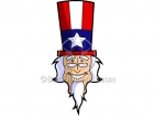 Cartoon Uncle Sam Clipart Graphics