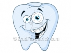 Cartoon Tooth Clipart