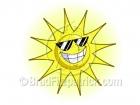 Cartoon Sun Clipart