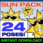 Clipart Sun Smiling
