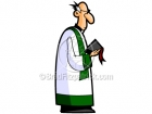 Cartoon Priest Clipart Graphics