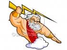 Cartoon Zeus Clipart Graphics