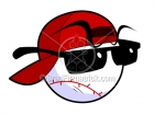 Cartoon Baseball Logo Character