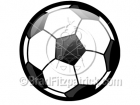 Cartoon Soccer Ball Clipart