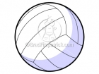 Cartoon Volleyball Clipart