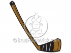 Cartoon Hockey Stick Clipart Graphics