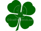 A Four Leaf Clover Clipart Picture