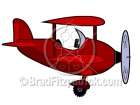 Cartoon Airplane Clipart