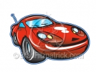 Cartoon Sports Car Clipart