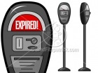 Royalty Free Parking Meter Stock Illustration