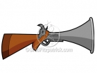 Royalty Free Musket Stock Illustration