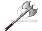 Battle Axe Clipart Graphics