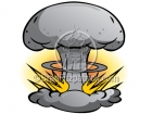 Cartoon Atomic Bomb Clip Art