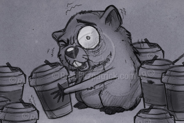 Cartoon Gopher Drawing