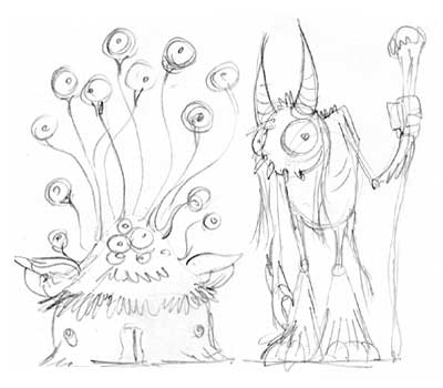 monster_couple_character_sketches