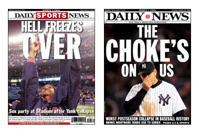 Daily News Sox - Yankees Covers