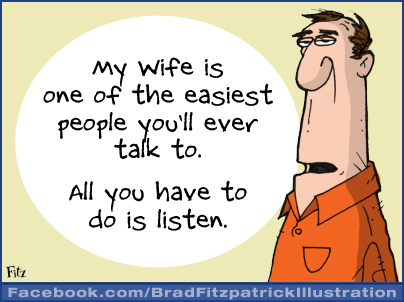 Funny Wife Cartoon for...