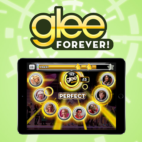 Glee-Forever-Game-App-Icon-Design-02