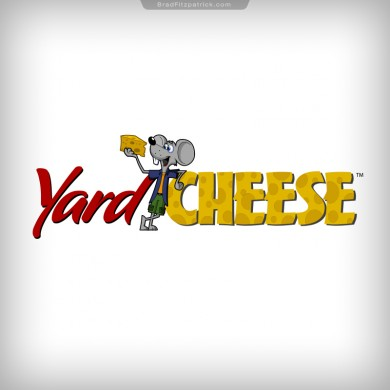 Yard Cheese Mouse Logo Design