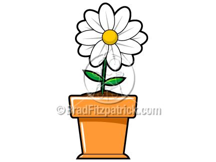 Cartoon Flower Clip Art Graphics Clipart Icon